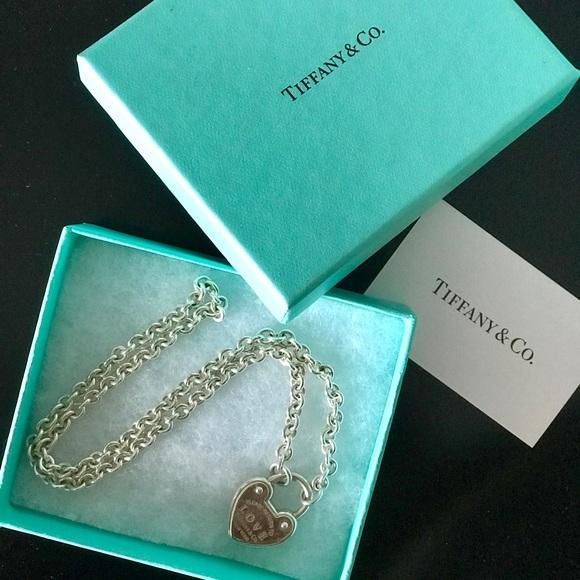 d9febf6f24 Tiffany & Co. Jewelry | Return To Tiffany Love Lock Necklace | Poshmark